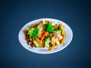 Tofu med grøntsager